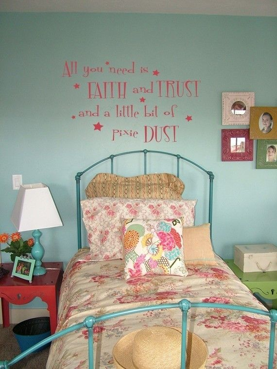Tinkerbell Quote - Wall Decal