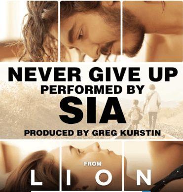Never Give Up- Sia #sia #songs #lyrics #Music #english #vevo