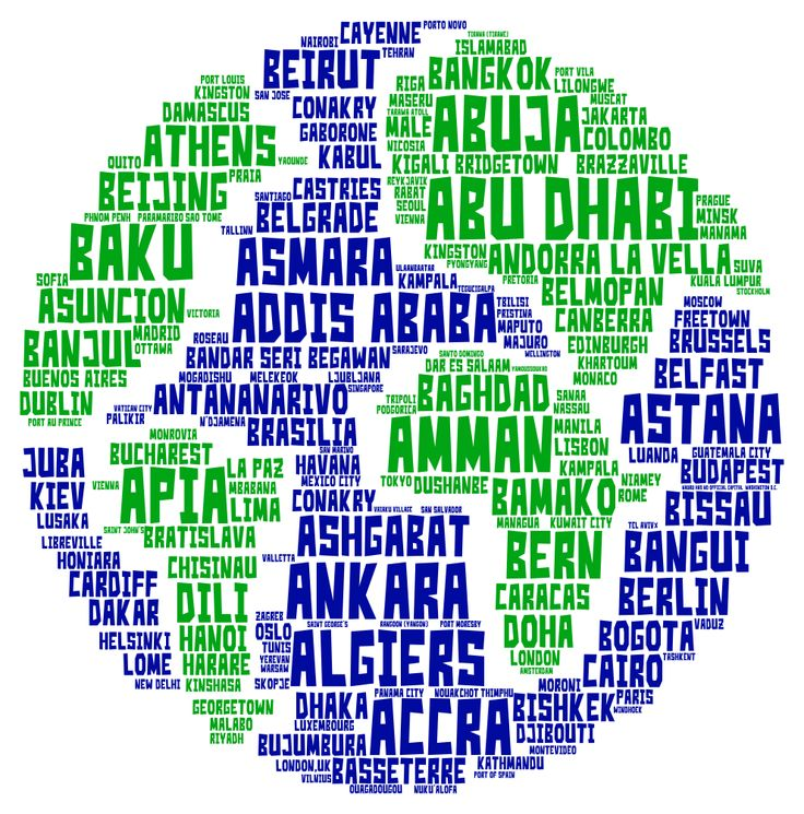 Word cloud art created with Tagul.com