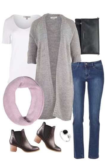 Snuggly Snood Outfit includes bird keepers, Django & Juliette, and Lola Jeans - Birdsnest Online Fashion Store