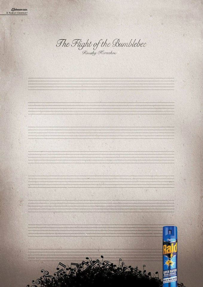 Haha!: Music Jokes, Brilliant Noticed, Musichumor, Funny Commercial, Sheet Music, Band Humor, Bugs Killers, Bumble Bees, Music Humor
