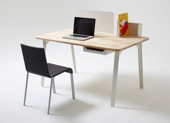 british designer samuel wilkinson has created the perfect modular work space for case furniture company called mantis desk