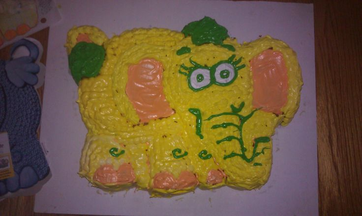 First cake I ever decorated