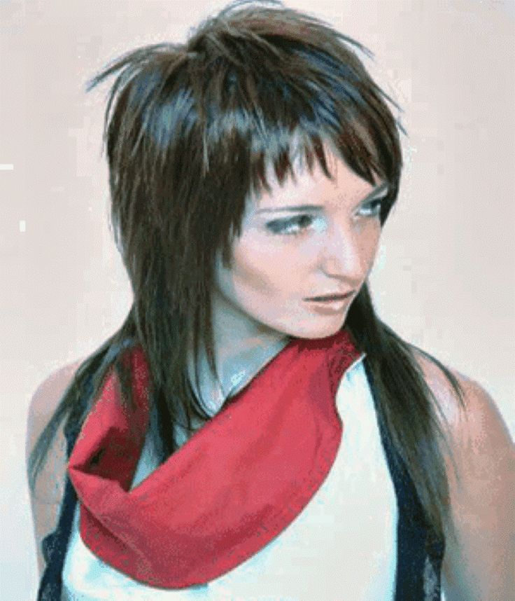 funky long layered hairstyles