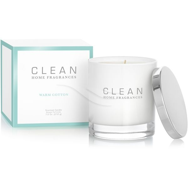 CLEAN - Warm Cotton Home Fragrance Candel