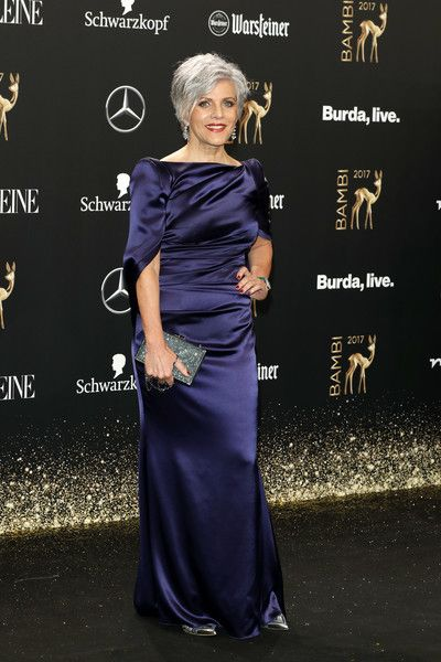 Birgit Schrowange Photos - Birgit Schrowange arrives at the Bambi Awards 2017 at Stage Theater on November 16, 2017 in Berlin, Germany. - Red Carpet Arrivals - Bambi Awards 2017