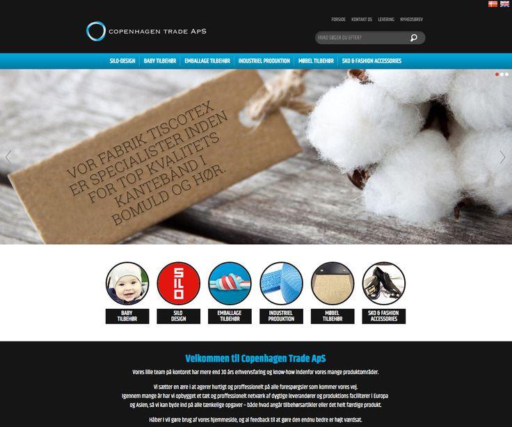 Så fik vi endnu et site i luften med flot og responsivt design. #Webdesign