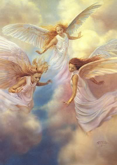 Three angels.
