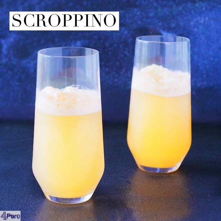 A delicious recipe for a scroppino, a spoom made with lime. Recipe in English  Een heerlijk recept voor een scroppino, een spoom gemaakt met limoen. Het recept is ook in het Nederlands.