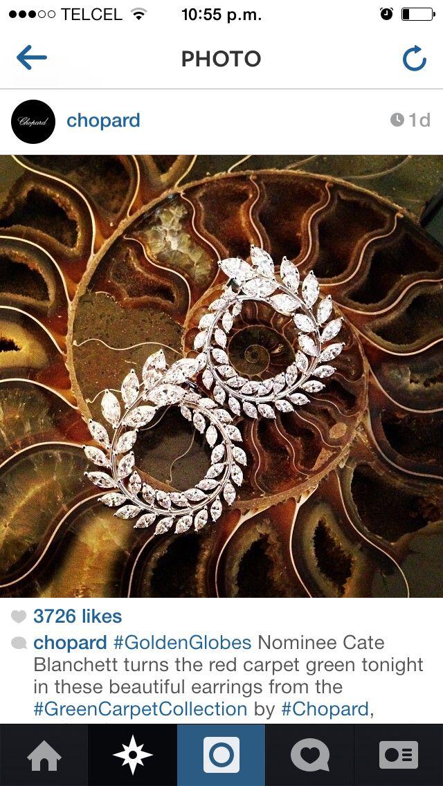 Chopard Marquis Diamond Earrings