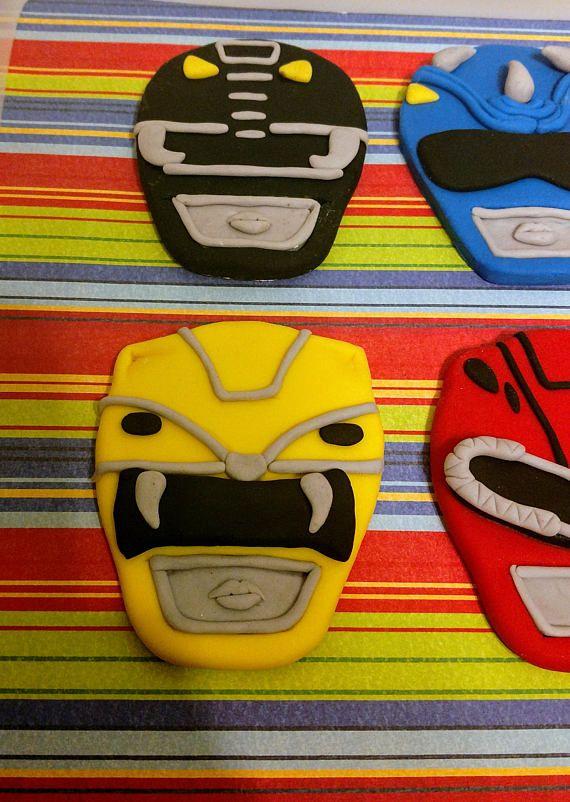 Power Rangers Cake Toppers Power Rangers Cake Power Ranger