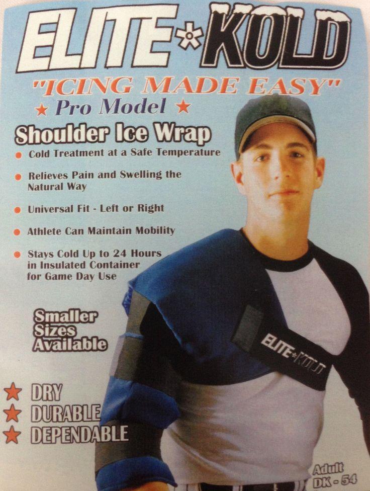 Elite kold adult shoulder ice wrap