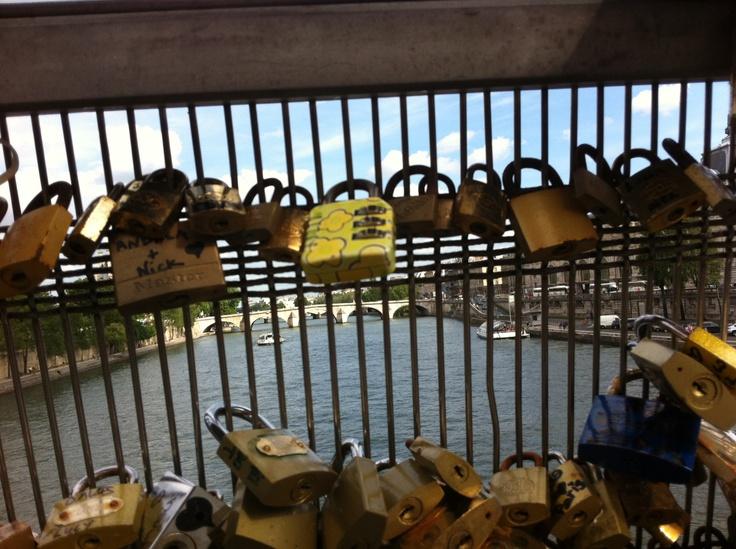 Paris, France  Love Locked Bridge