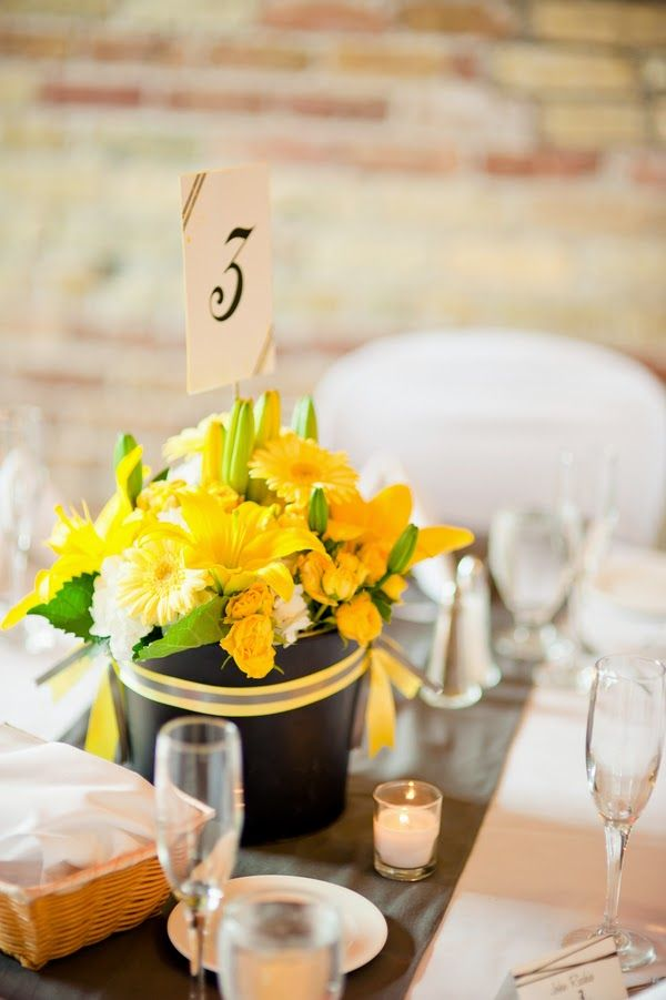 83 best simple wedding centerpieces images on pinterest lovely yellow wedding bouquets and centerpieces httpsimpleweddingstuffspot junglespirit Images