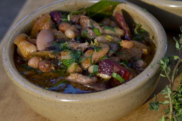 Saskia Beer's Barossa Winter Cassoulet. Perfect for those cold, wet and wintery nights.   #Winter #Recipes