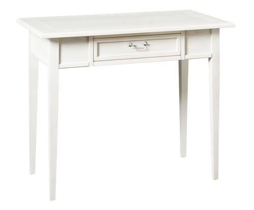 #Scrivania a 1 cassetto in legno massiccio colore Laccato bianco  ad Euro 229.00 in #Domus mobili s r l #Furniture tables desks
