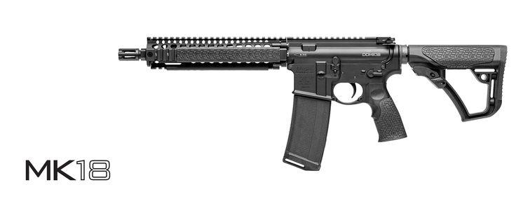 Daniel Defense MK18 (BLK) | Montana Tactical