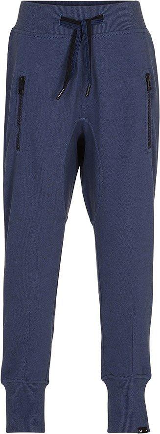 Ashton - Infinity - Dark blue sweatpants with ties