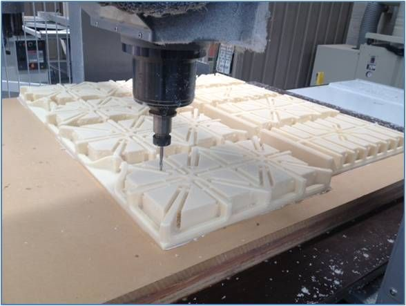 3D CNC machining at the workshop!