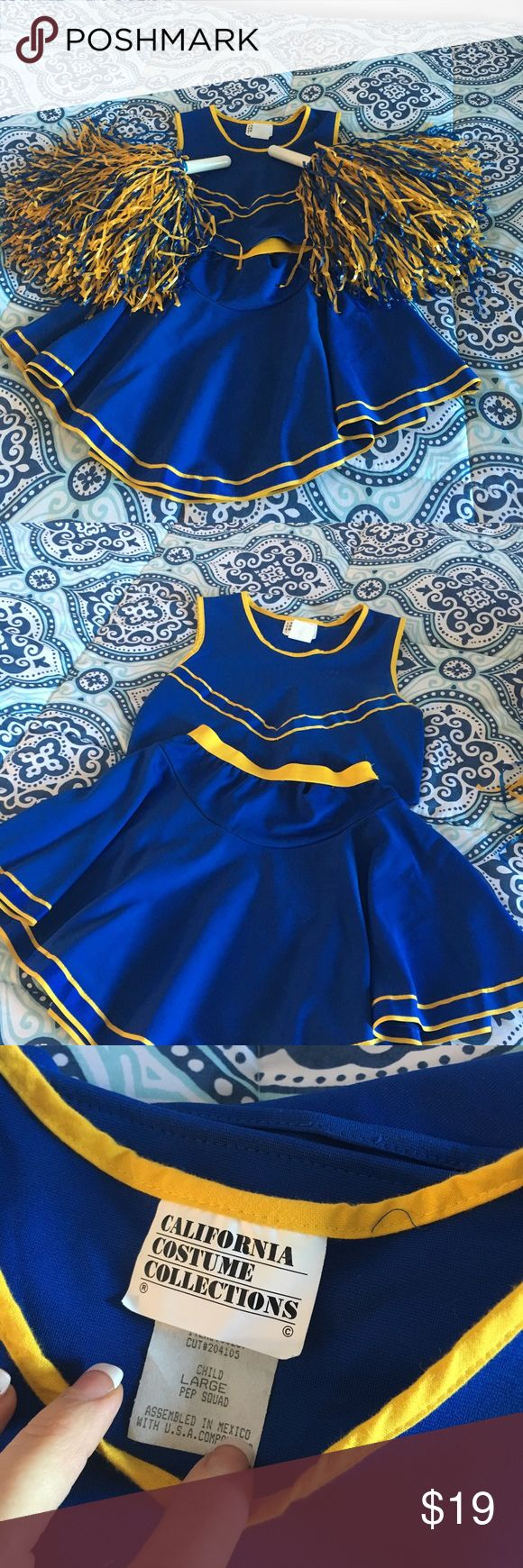 Cheerleaders Costume Beautiful Cheerleader Costume. It's Size Large In Child. In great condition Costumes Halloween