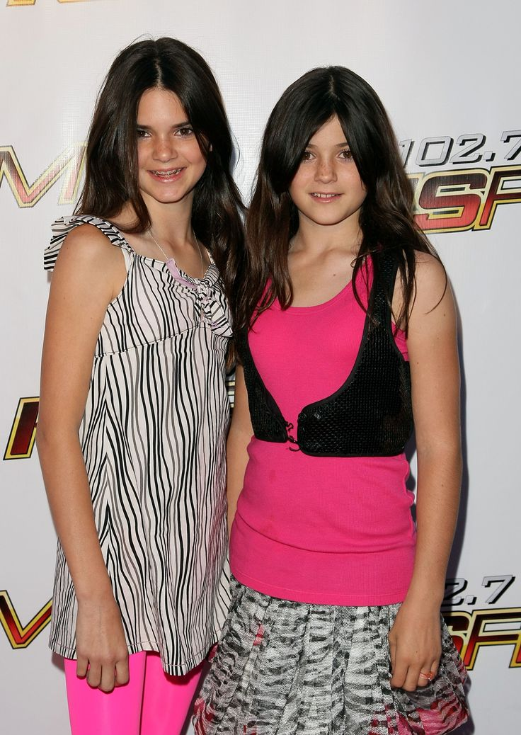 IRVINE, CA - MAY 10:  TV personalities Kendall Jenner and Kylie Jenner arrive at the KIIS-FM's 2008 Wango Tango concert held at the Verizon Wireless Amphitheater on May 10, 2008 in Irvine, California.  (Photo by Noel Vasquez/Getty Images) via @AOL_Lifestyle Read more: https://www.aol.com/article/entertainment/2017/04/05/kendall-jenner-pepsi-commercial-pulled/22027355/?a_dgi=aolshare_pinterest#fullscreen