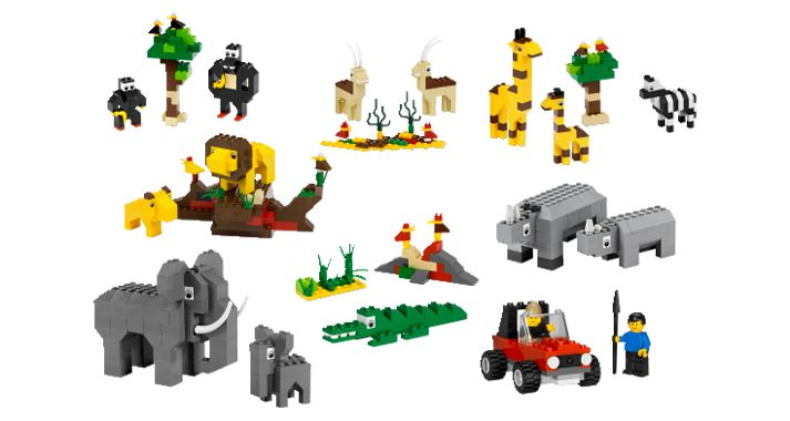 Jungle Animals Built With Legos Google Search Ian S
