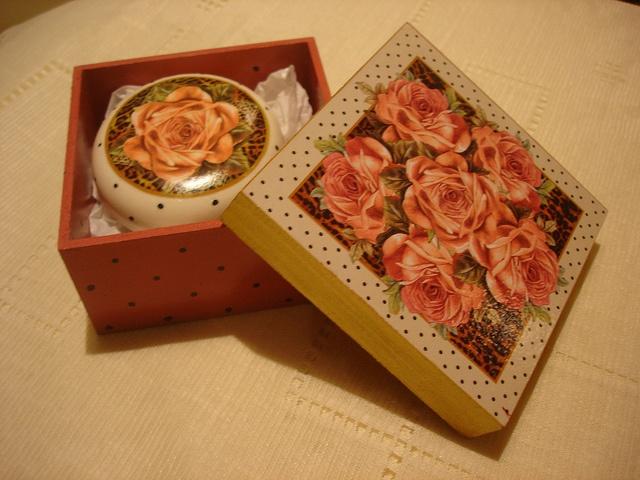 Cajas Decorativas Mdf Blanco Y Negro