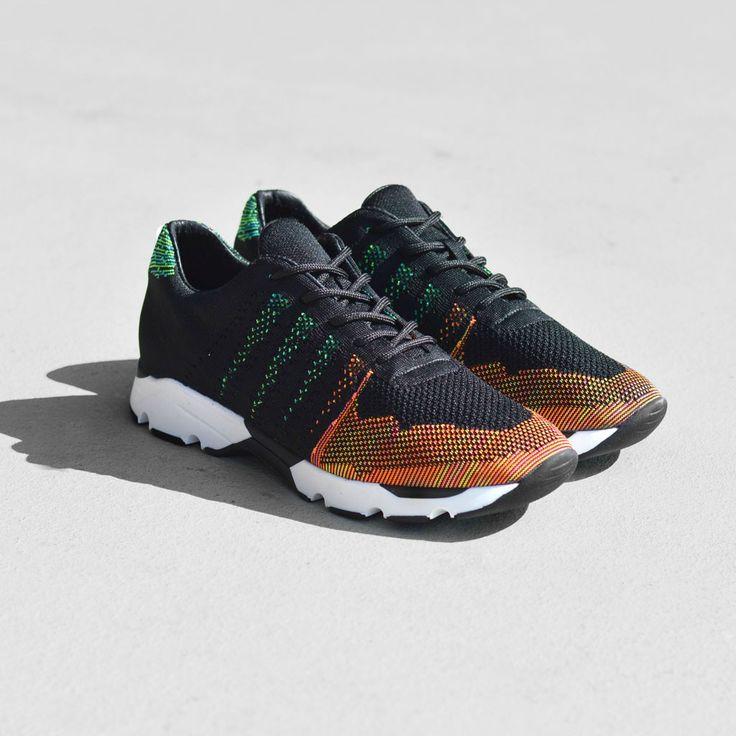 Mercer Amsterdam Wooster Knit Tech Runner Shoes   Multi