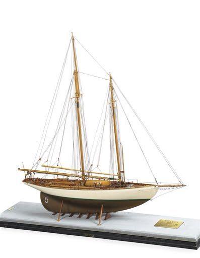 "Model of Schooner ""Brilliant"" - Design Sparkman & Stevens, Inc. - built 1932"