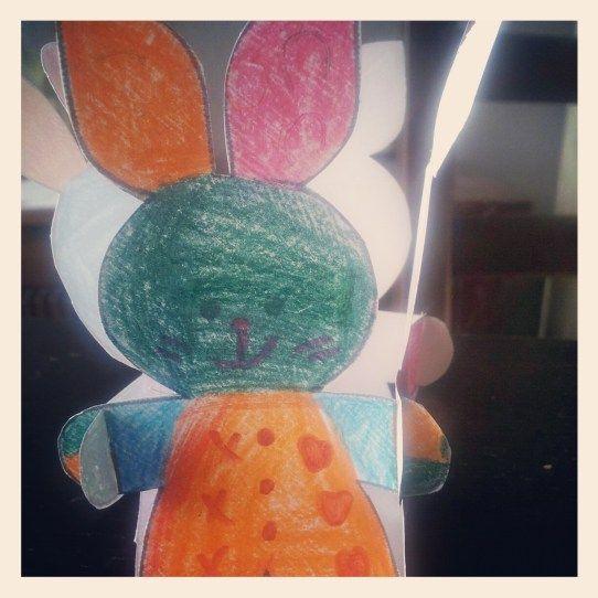 Panier lapin de Pâques {tuto DIY}