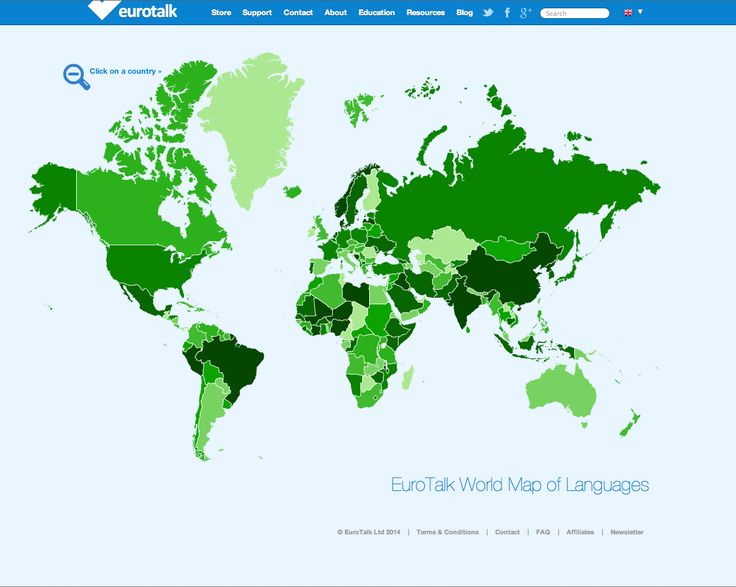 Best EuroTalk The Fun Way To Learn Languages Images On - Languages spoken in each country