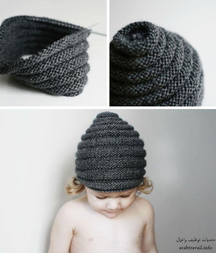Mejores 34 imágenes de knitting en Pinterest   Gorro tejido ...