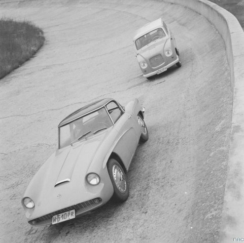 FSO Syrena Mikrobus and Syrena Sport. Warszawa. 1958-1960.