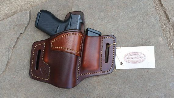 Right / Brown / OWB Mag /Glock 43 holster