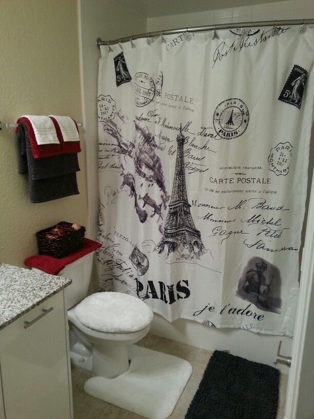 My Paris Theme Bathroom
