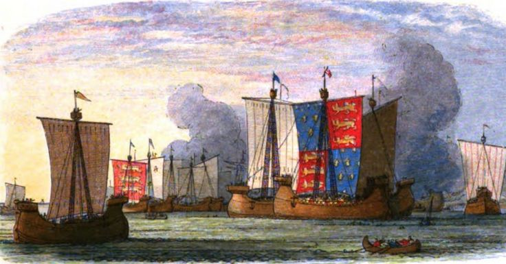 The Brutal Reality of Naval Warfare in the Hundred Years War