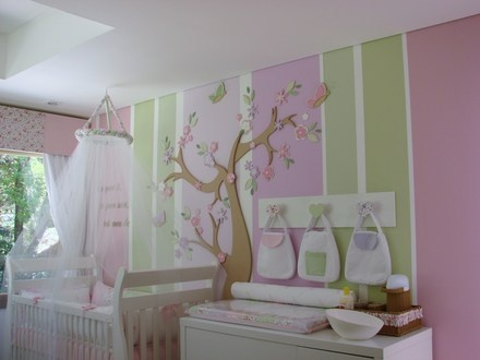 cute wall idea for a baby's room