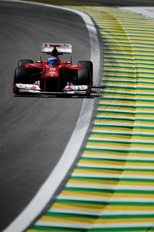 Fernando Alonso Brazilian GP