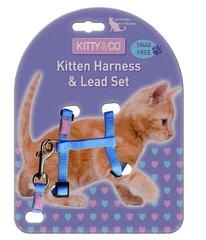 Harnais pour chaton - Hariet et Rosie Kitty & Co