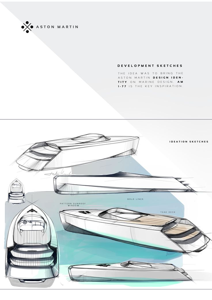 This Project Is A Developed Portfolio Concept Model Of Existing AM 37 Speed Boat Which I Did During My Internship Where Worked Briefly With Aston Martin