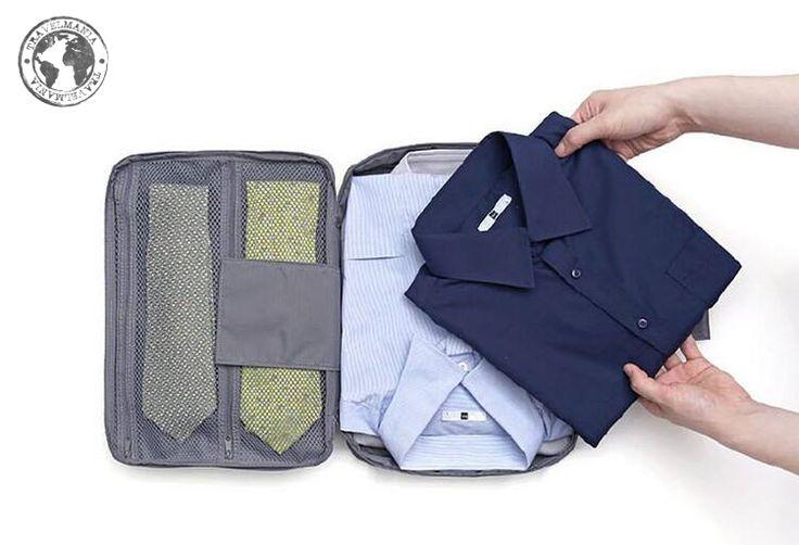 Guarda Camisa y Corbata para Viajes. Medidas: 36 x 26 cm.