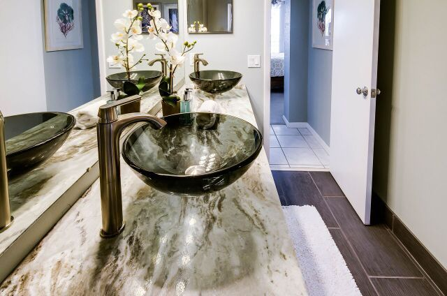 17 Best Images About Condo Remodel Turn Key For Rent On Pinterest White Vanity Master