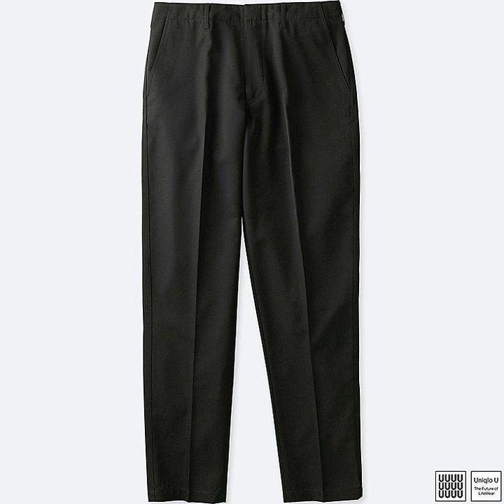 Uniqlo Men's U Wool-blend Wide Pants