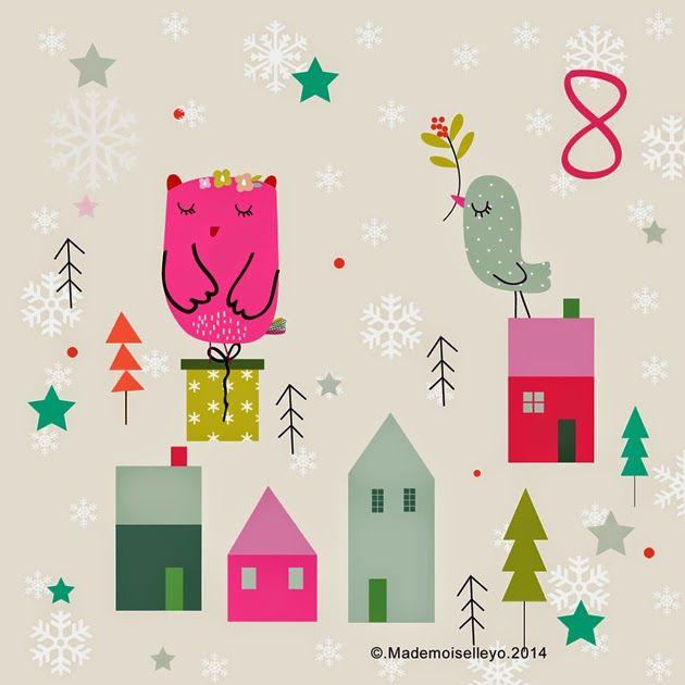 Mademoiselleyo: Advent calendar 6, 7, 8: