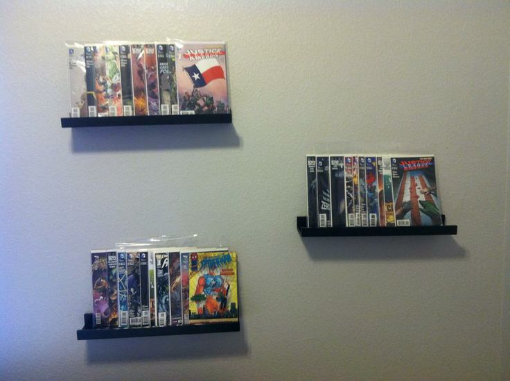 17 best images about comicbook storage on pinterest wall mount comic book frames and photo - Comic book display shelves ...