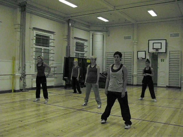 Street Dance class by Urban moves Kuopio ry in Kuopio, Finland.