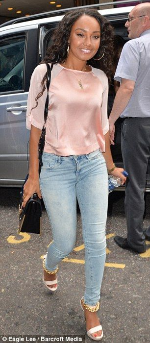 Leigh-Anne Pinnock from little mix. one of the most gawj black women.