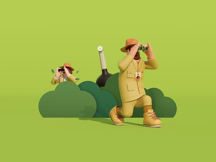 Best Artwork D Images On Pinterest D Design D Cartoon - Amazing 3d artwork dani aristizabal