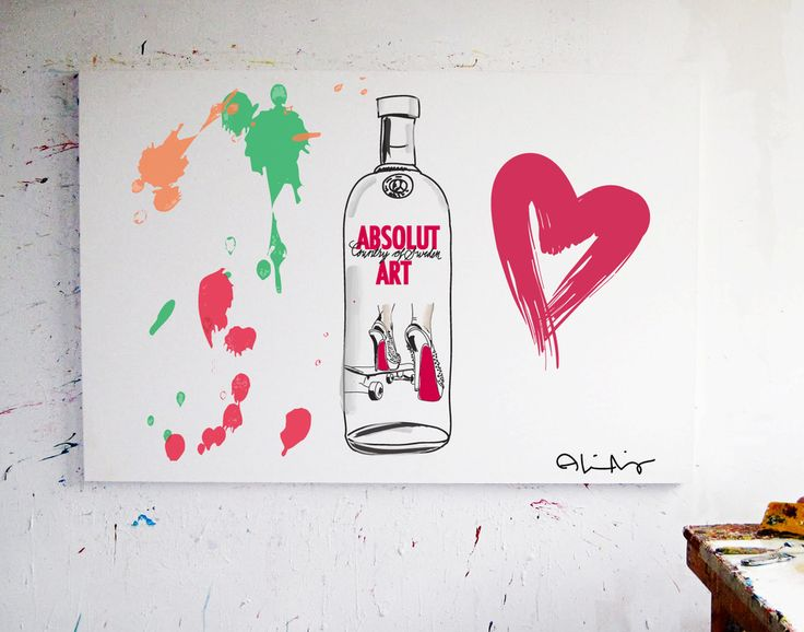 ABSOLUT ART via A.NORDLING ART. Click on the image to see more!