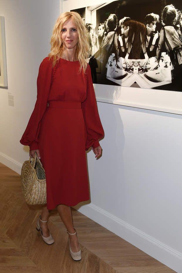 Week-end Fashion à Paris : Sandrine Kimberlain lors de l'exposition